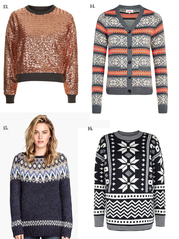 Shop our edit of (cool) Christmas jumpers! | Today I'm Wearing …