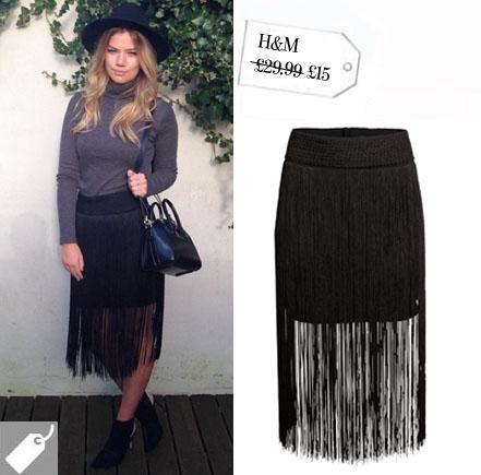 H&m Fringed Skirt £29.99 £15