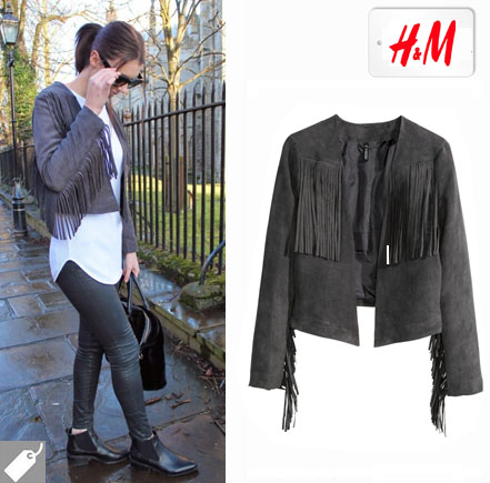 H&m Fringed Jacket £29.99